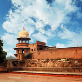 Ruins of an ancient fort. India, Agra — Stock Photo