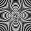 Loopable video 1920x1080 - Endlessly rotating hypnotic spiral. Look into the center. — Stock Video