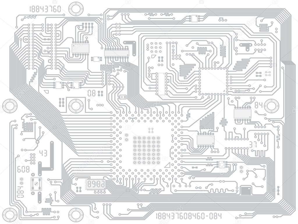 Circuit Vector Wallpaper Circuit Board Vector Computer