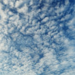 Altocumulus clouds - natural beauty contrast background — Stock Photo #33673659