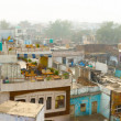 Panorama of indian city - Agra — Stock Photo
