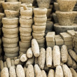 Stock Photo: Stone products on open market. Burma, Mandalay