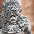 Sculpture of the mythical guard. Indonesia, Bali — Stock Photo #39788107