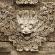 Stone mythical creature - decoration of Bali temple — Stock Photo #39788129
