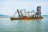 Old dredge. Thailand — Stock Photo