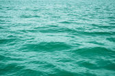 Surface of sea. medium-sized waves — Stock Photo