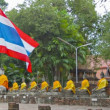 Video 1080p - At Wat Yai Chai Mongkol, Thailand, Ayuthaya — Stock Video #39978873