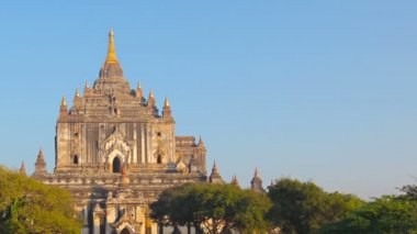 Video 1920x1080 - Htilominlo Temple. Bagan, Myanmar (Burma) — Stock Video