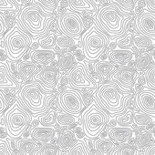 Vector seamless abstract simple pattern with concentric curved c — Stock Vector