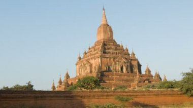 Video ad alta definizione - htilominlo (nadoungmya o zeya uzana theinkha). birmania, bagan — Video Stock