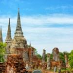 Wat Phra Si Sanphet temple. Thailand, Phra Nakhon Si Ayutthaya P — Stock Photo #43516353