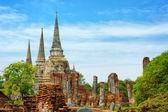Wat Phra Si Sanphet temple. Thailand, Phra Nakhon Si Ayutthaya P — Stock Photo