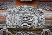 Portrait d'un personnage mythique sur le mur de l'indonésien t — Photo