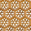 Seamless pattern. Ancient traditional ornament - brown sandstone — Stock Photo