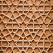 Indian ornament with Arabic motifs. Stone carving from Agra — Stock Photo #51052533