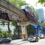 Kuala Lumpur transport — Stock Photo #12216190