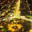 Fuente Osmena Circle at night - Stock Photo