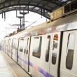 Metro in New Delhi - Stock Photo