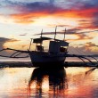 Traditional Philippines boat - Stock Photo