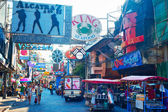 Walking street i pattaya — Stockfoto