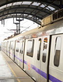 Metro in New Delhi — Stock Photo