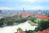 Wroclaw skyline — Stock Photo