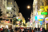 Vienna at night — Stock Photo