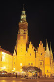 Wroclaw Town Hall — Stock Photo