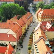 Wroclaw street — Stock Photo