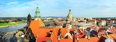 Dresden skyline — Stok fotoğraf