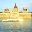 Hungarian Parliament Building - Stock Photo
