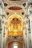 Organ at Passau Cathedral — Stock Photo