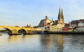 Regensburg panorama — Stock Photo