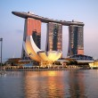 Marina Bay — Stock Photo