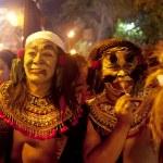Balinese New Year celebrations — Stock Photo
