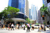 Singapur rush hour — Zdjęcie stockowe