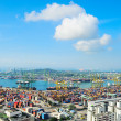 Stock Photo: Singapore commercial port