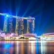 Marina Bay Sands at night — Stock Photo #23006784