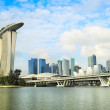Singapore panorama - Stock Photo