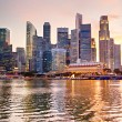 Singapore at sunset — Stock Photo #23006932