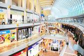 Marina bay köpcentrum — Stockfoto