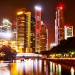 Foto de Stock  : Night in Singapore