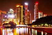 Night in Singapore — Stock Photo