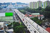 Singapore's highway — Stock Photo