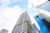 Moderne skyscrapes — Stockfoto