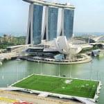 Singapore bay — Stock Photo
