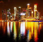 Colorful Singapore — Stock Photo