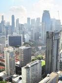 Singapore buildings — Stock Photo
