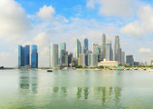 Singapore bay — Stock Photo
