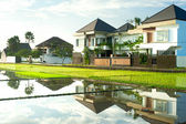 Cottages on Bali — Stock Photo